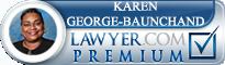 Karen Michelle George-Baunchand  Lawyer Badge