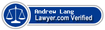 Andrew Ryan Lang  Lawyer Badge