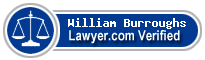 William Stanley Burroughs  Lawyer Badge
