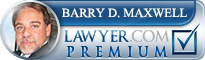 Barry Maxwell  Lawyer Badge