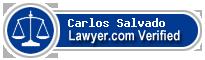 Carlos Salvado  Lawyer Badge