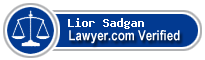 Lior Sadgan  Lawyer Badge