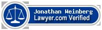 Jonathan Weinberg  Lawyer Badge