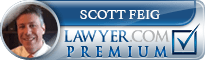 Scott Feig  Lawyer Badge