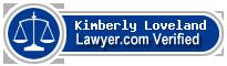Kimberly Nicole Loveland  Lawyer Badge