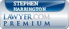 Stephen Collins Harrington  Lawyer Badge