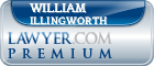 William Charles Illingworth  Lawyer Badge