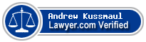 Andrew Justin Kussmaul  Lawyer Badge