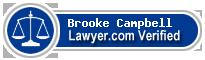 Brooke Nichole Hill Campbell  Lawyer Badge