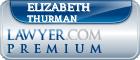 Elizabeth J. Thurman  Lawyer Badge
