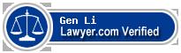 Gen Li  Lawyer Badge