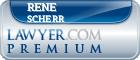 Rene Mario Scherr  Lawyer Badge