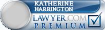 Katherine Marie Harrington  Lawyer Badge