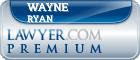 Wayne Ryan  Lawyer Badge