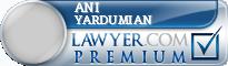 Ani Edward Yardumian  Lawyer Badge