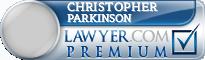 Christopher James Parkinson  Lawyer Badge