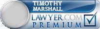 Timothy James Marshall  Lawyer Badge