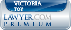Victoria Clare Toy  Lawyer Badge