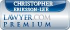 Christopher Kaj Gunnar Eriksson-Lee  Lawyer Badge