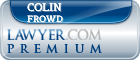 Colin James Frowd  Lawyer Badge