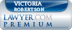 Victoria Helen Robertson  Lawyer Badge