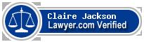 Claire Damaris Jackson  Lawyer Badge
