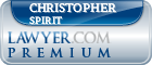 Christopher Robert Adam Spirit  Lawyer Badge