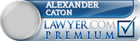 Alexander Caton  Lawyer Badge