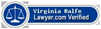 Virginia Ralfe  Lawyer Badge