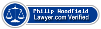 Philip John Woodfield  Lawyer Badge