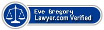 Eve Gregory  Lawyer Badge