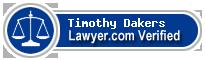 Timothy John Dakers  Lawyer Badge