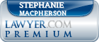 Stephanie Eve Macpherson  Lawyer Badge