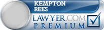 Kempton Metcalfe Rees  Lawyer Badge
