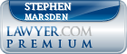 Stephen Paul Marsden  Lawyer Badge