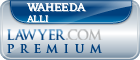Waheeda Alli  Lawyer Badge
