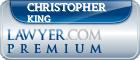 Christopher Stephen King  Lawyer Badge