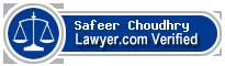Safeer Choudhry  Lawyer Badge