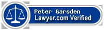 Peter Wilfred Abney Garsden  Lawyer Badge