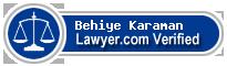 Behiye Becky Karaman  Lawyer Badge
