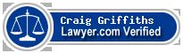Craig Steven Griffiths  Lawyer Badge