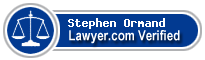 Stephen George Ormand  Lawyer Badge