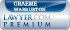 Graeme Trevor Warburton  Lawyer Badge