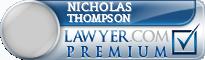 Nicholas James Thompson  Lawyer Badge