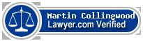 Martin Bernard Collingwood  Lawyer Badge