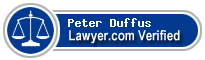 Peter Alexander Duffus  Lawyer Badge