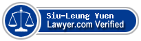 Siu-Leung Yuen  Lawyer Badge
