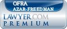 Ofra Azar-Freedman  Lawyer Badge