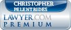 Christopher Savvas Pelentrides  Lawyer Badge