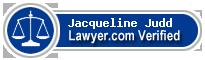 Jacqueline Judd  Lawyer Badge